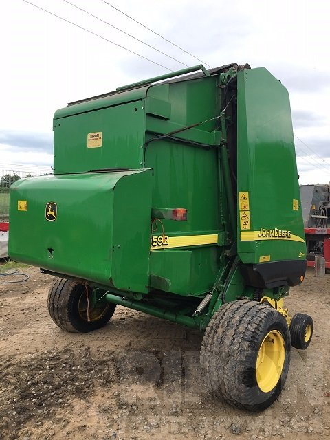 John Deere 592 Hi Flow Baler - Ripon Farm Services