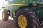 Image of John Deere T670 Level Land Combine