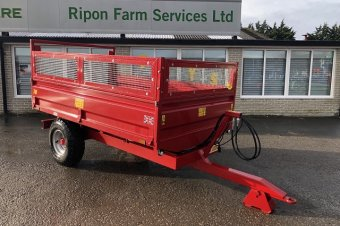 Foster T40 Tipping Trailer