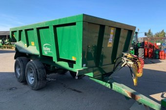 Bailey CD17 Dump Trailer