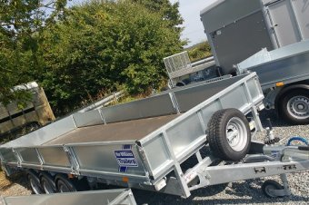 Ifor Williams LM186 Flatbed Trailer