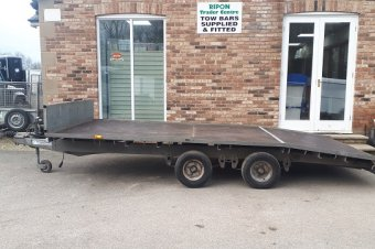 Ifor Williams LT146 Flatbed Trailer