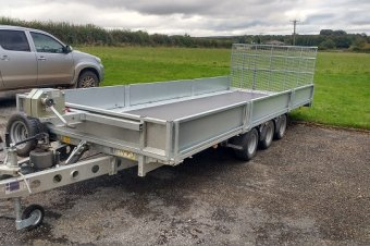 Ifor Williams TB5521-353 Tilt Bed Trailer