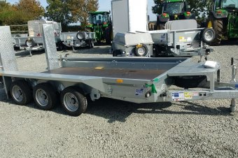 Ifor Williams GH126 Trailer