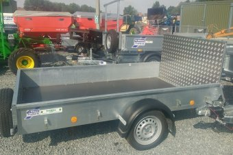 Ifor Williams P8 Unbraked Trailer