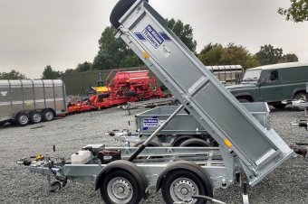 Ifor Williams Electric Tip Trailer