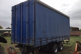 23ft Curtain Sided Trailer