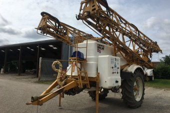 Knight Lazer Trailed Sprayer