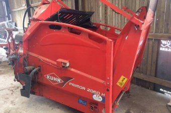Kuhn Primor 2060H Straw Chopper