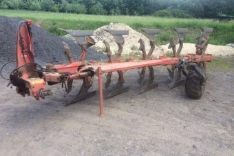 Kuhn Multi Master 122 Plough