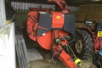 Kuhn Primor Straw Chopper