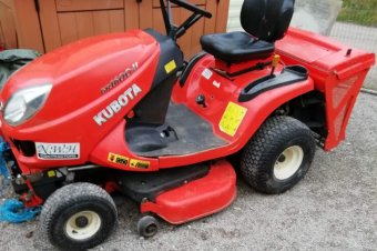 Kubota GR1600 Ride On Lawnmower