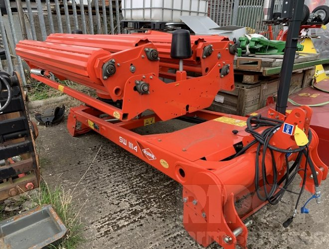 Image of Kuhn SW1114C Mounted Bale Wrapper