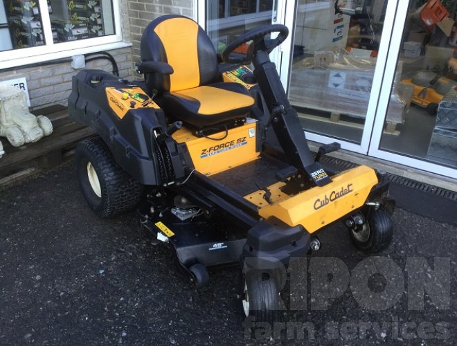 Image of Cub Cadet Z-Force Ride on Mower