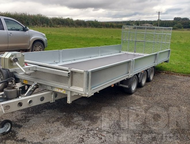 Image of Ifor Williams TB5521-353 Tilt Bed Trailer