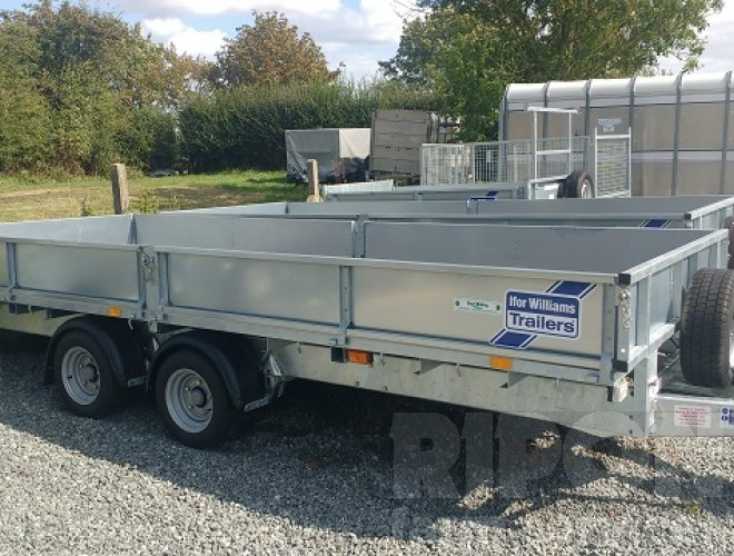 Image of Ifor Williams LM166 Trailer