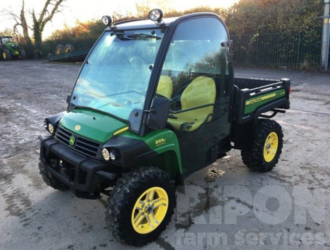 john deere xuv 855d gator ripon farm services. Black Bedroom Furniture Sets. Home Design Ideas