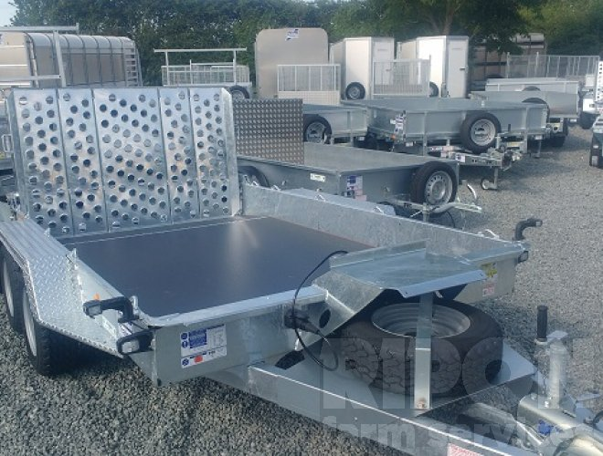 Image of Ifor Williams GH106 Plant Trailer