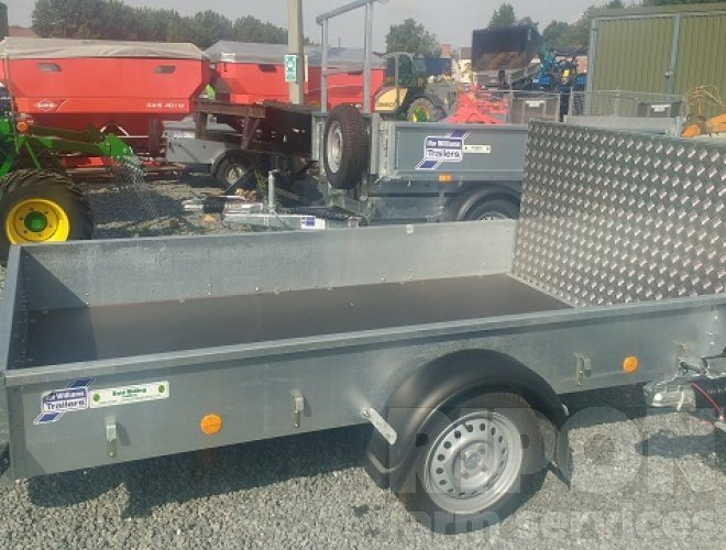 Image of Ifor Williams P8 Unbraked Trailer