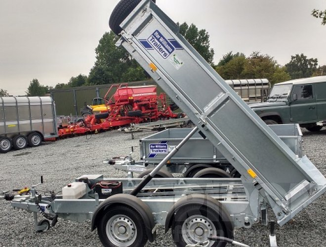 Image of Ifor Williams Electric Tip Trailer